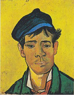 Van Gogh - Junger Mann mit Mütze