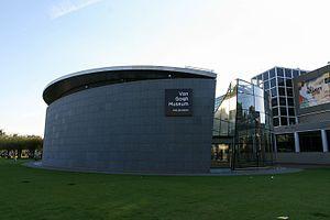 Van Gogh Museum - The entrance building
