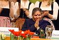 Vandana Shiva at Rosenheim, February 16, 2009. Img 1.jpg