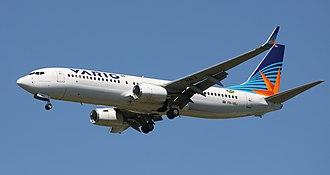 "Gol Transportes Aéreos - ""New"" Varig Boeing 737-800."