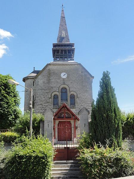 Variscourt (Aisne) église