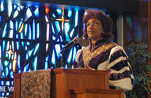 Vashti Murphy McKenzie - Bishop of the Tenth Episcopal District