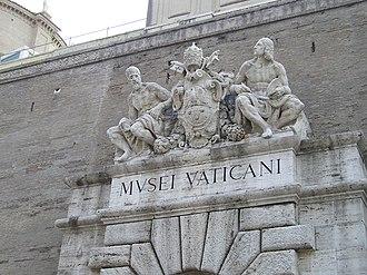 Culture of Vatican City - Entrance to Vatican Museum