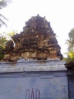 Vellalore suburb in Kongu Nadu, Tamil Nadu, India