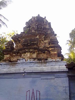 Vellalore - Vellalore Karivaratharaja Perumal Temple Tower