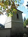 Velvary, Malovarská, zvonice u kostela Všech svatých.JPG