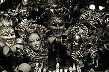 Negozio di maschere a Venezia