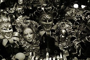 Venice shop window (Spring 2002). Photo by Pet...
