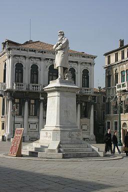 Venice - Statue of Nicolò Tommaseo
