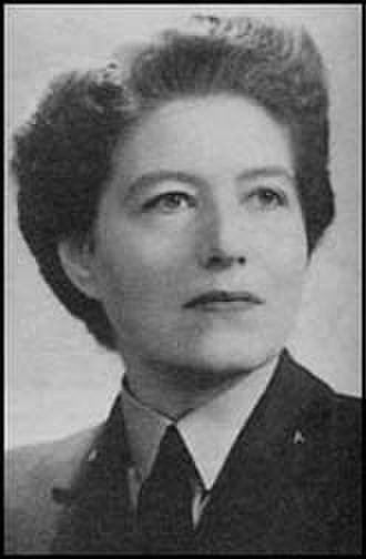 Vera Atkins - Squadron Officer Vera Atkins, WAAF, in 1946