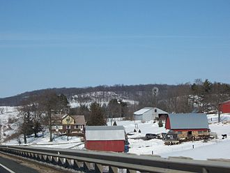 Vernon County, Wisconsin - Image: Vernon County Wisconsin Countryside WIS80
