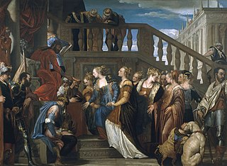 Esther devant Ahasuerus