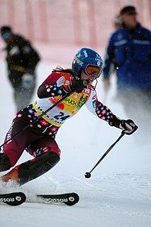 Veronika Velez-Zuzulová Slovak alpine skier