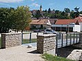 Veszprém 2016, North footbridge and Saint Margaret of Hungary Church.jpg