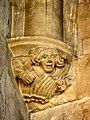 Viarmes (95), église Saint-Pierre-Saint-Paul, nef, cul de lampe dans l'angle nord-est.JPG