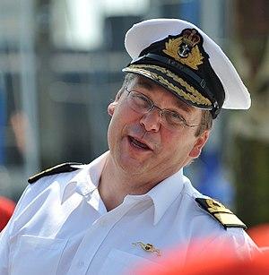 Simon Lister (Royal Navy officer) - Vice Admiral Simon Lister in 2014