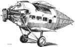 Vickers Vulcan fuselage detail Les Ailes July 6,1922.png