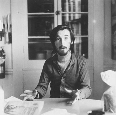 Victor Bockris in 1972 by Elsa Dorfman Victor bockris.jpg