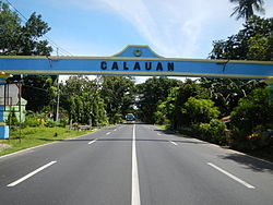 Calauan Welcome Arch
