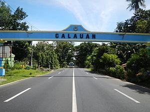 Calauan, Laguna - Calauan Welcome Arch