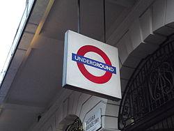 Victoria Arcade - Victoria, London - Underground sign (8103456754).jpg
