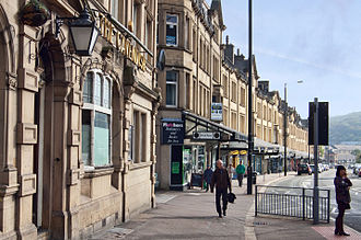 Keighley - A ground-level view of the Victorian commercial quarter