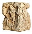Viergodensteen (sokkel) met reliëfs van Neptunus, Hercules en Diana in kalksteen, 200 tot 250 NC, vindplaats- Stokkem, Koeweide, 1969, collectie Gallo-Romeins Museum Tongeren, GRM 18808.jpg