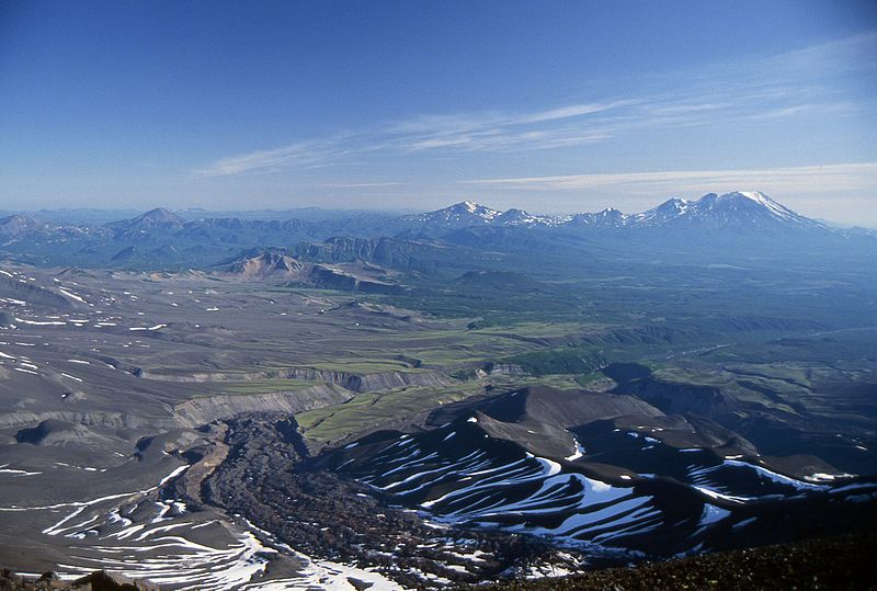 File:View from the Avachinsky Volcano - Kamchatka, Russian Federation - Summer 1993.jpg