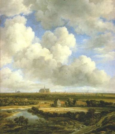 View of Haarlem from the Dunes at Overeen - Date unknown