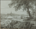 View of Rauna in 1833 by A. M. Hagen.png