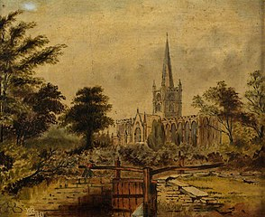 View of Stratford-upon-Avon Cathedral