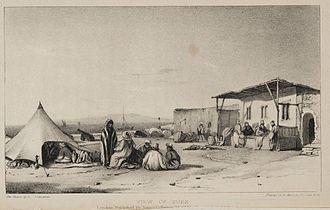 Suez - Painting of Suez, 1841