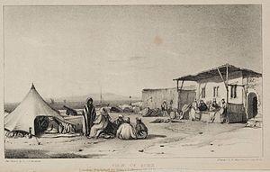 View of Suez. (1841) - TIMEA