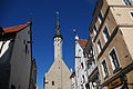 View of the Church of the Holy Ghost, Old Town in Tallin, Estonia, Northern Europe.jpg