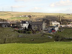 View over Wardle, in Greater Manchester, England - Geograph-2290339.jpg