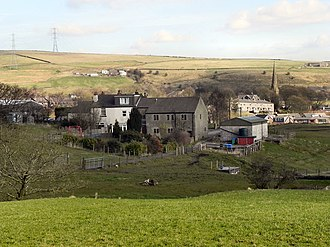 Wardle, Greater Manchester - Image: View over Wardle, in Greater Manchester, England Geograph 2290339