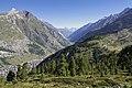View to Mattertal towards north, Wallis, Switzerland, 2012 August.jpg