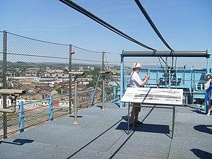 Titan Clydebank - The Titan Crane's jib has been converted into a public viewing platform.