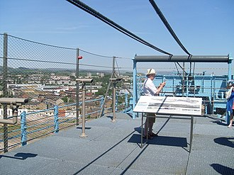 Titan Clydebank - The Titan Crane's jib has been converted into a public viewing platform.