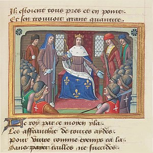 Franc-archer - Image: Vigiles du roi Charles VII 19