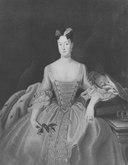 Vilhelmina, 1709-1758, prinsessa av Preussen, markgrevinna av Brandenburg-Bayreuth (Antoine Pesne) - Nationalmuseum - 15855.tif