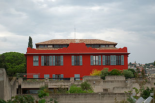 art school, artist residency and multimedia library located in Nice, France