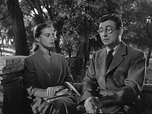François Périer - Anna Maria Ferrero and Périer in It Happened in the Park (1953)