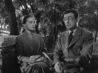François Périer - Anna Maria Ferrero and Périer in It Happened in the Park (1953)
