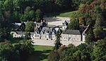 Villesavin castle, aerial view cropped.jpg