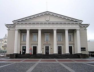 Town Hall, Vilnius - Vilnius' Town Hall