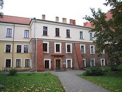 Kaip pateikti į Vilniaus Dailės Akademija viešuoju transportu - Apie vietovę