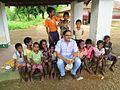 Vinay saraswati with tribal children.jpg