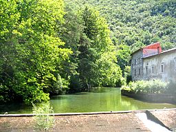 Karst spring of river Vipava