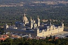 Vista aerea del Monasterio de El Escorial, segovia, plan con hijos, niños, excursiones, padre divorciado